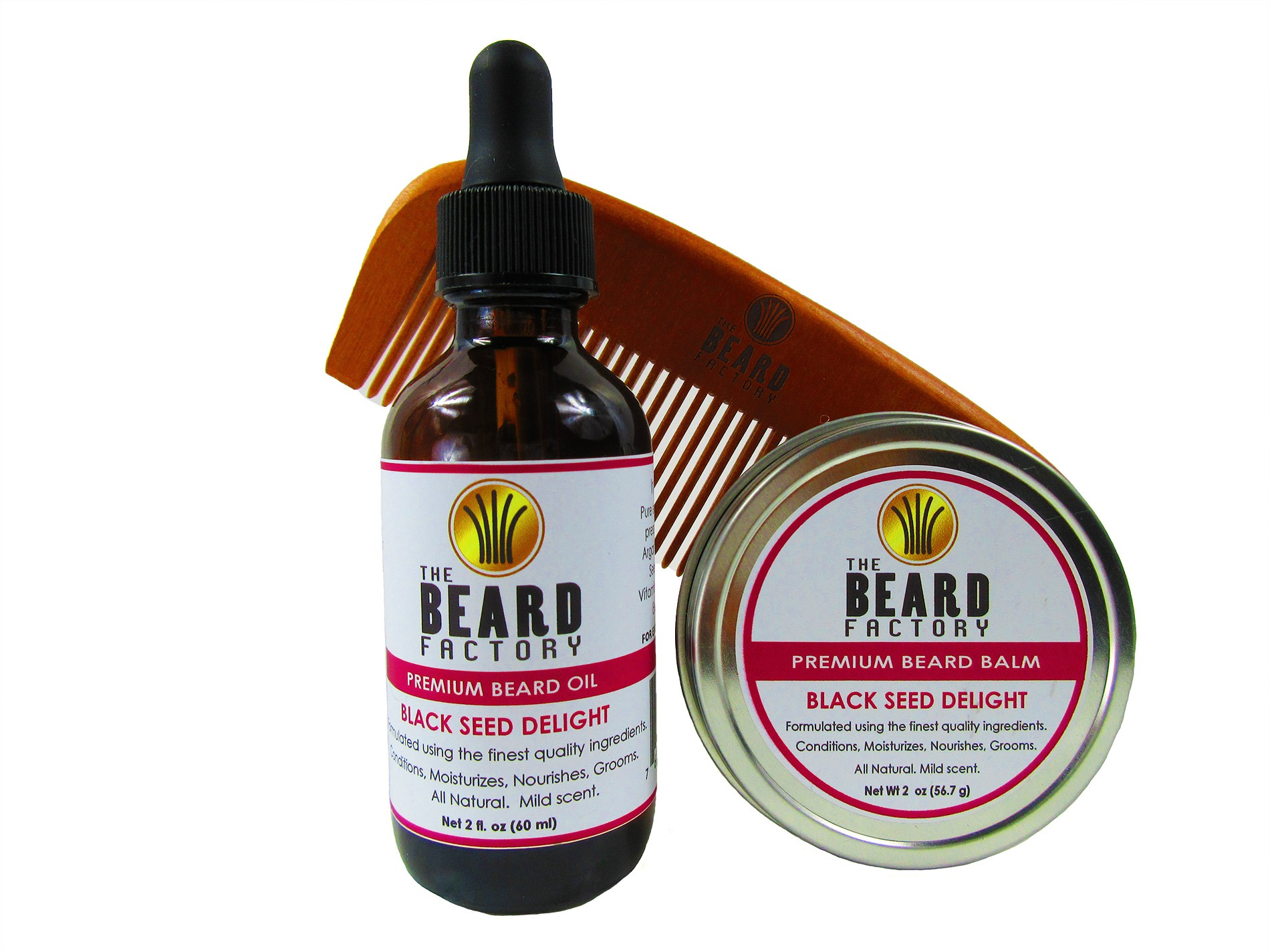 Black Seed Delight Beard Combo Kit