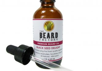 black seed delight beard oil open