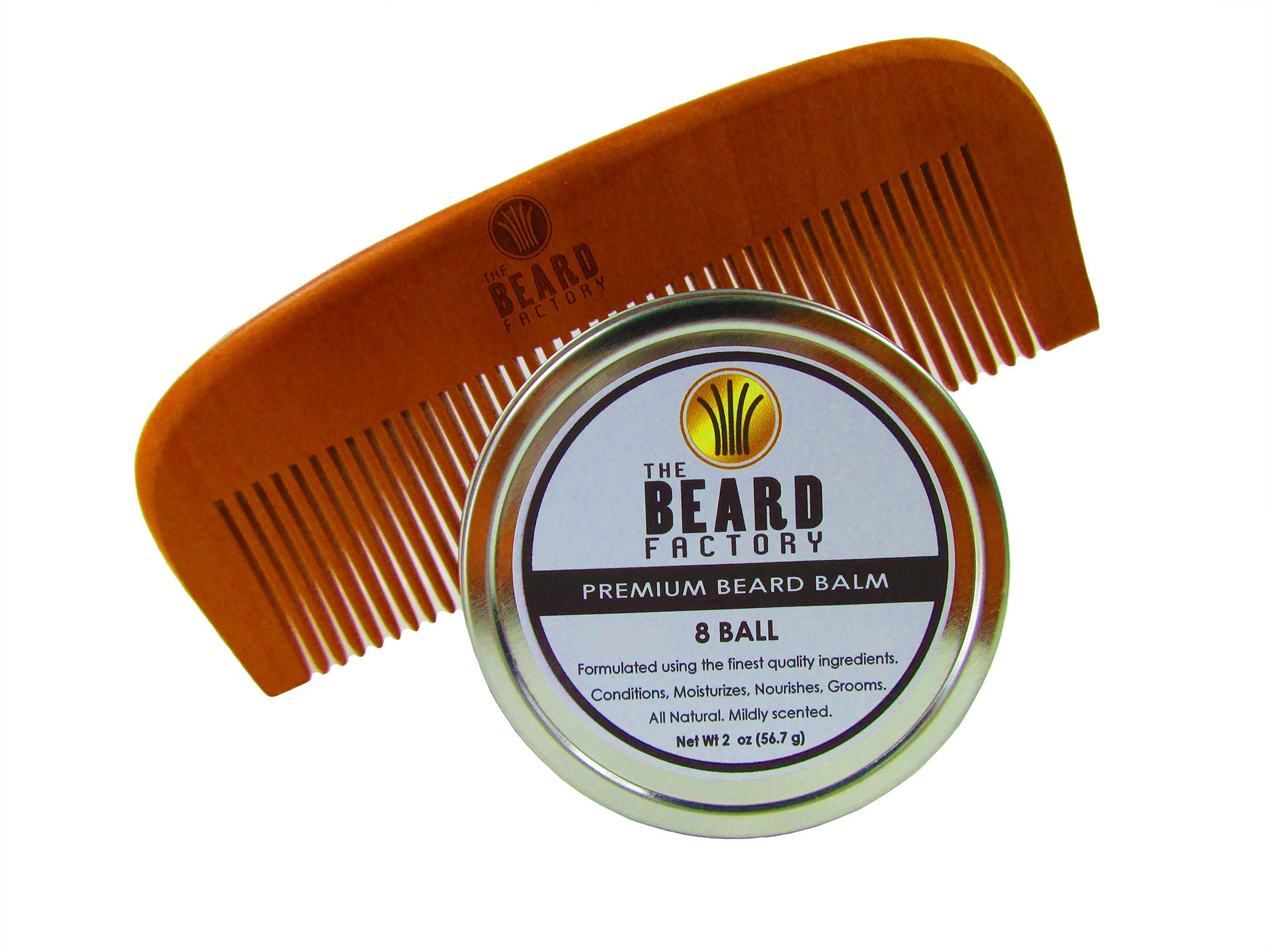 8 ball balm and comb
