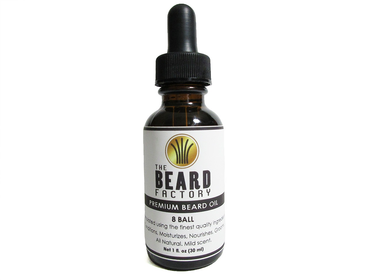 8 ball beard oil 1 oz