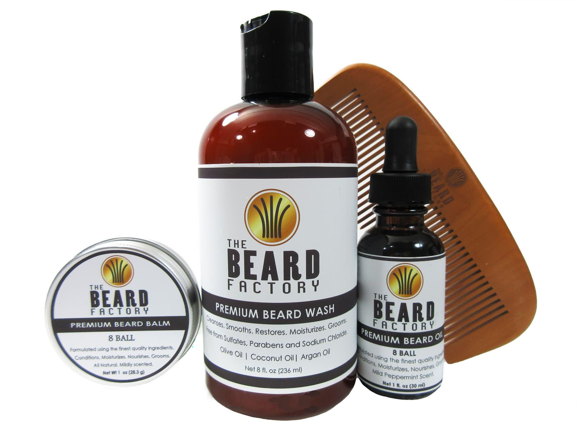 Beard Oil 4 pack Beard Wash